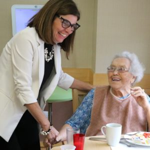 Minister of seniors visits radiant care