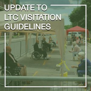 Update to long-term care visitation guidelines