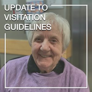 update to visitation guidelines